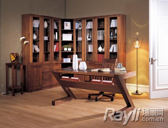 百强•黑森林--书房家具